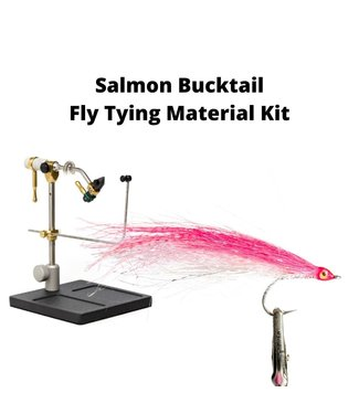 Gig Harbor Fly Shop Salmon Bucktail Fly Tying Material Kit