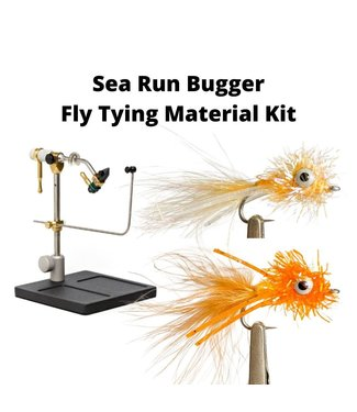 Gig Harbor Fly Shop Sea Run Bugger Fly Tying Material Kit