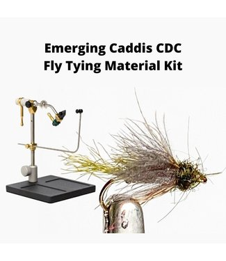 Gig Harbor Fly Shop Emerging Caddis CDC Fly Tying Material Kit