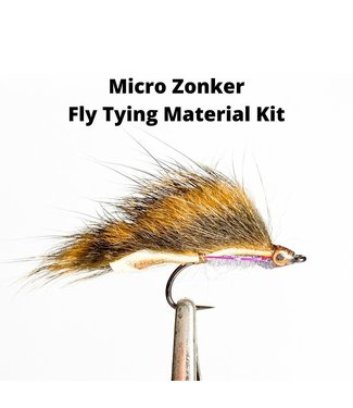Gig Harbor Fly Shop Micro Zonker Fly Tying Material Kit