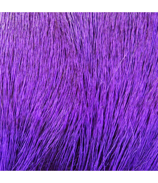 Hareline Dubbin Dyed Deer Body Hair Purple