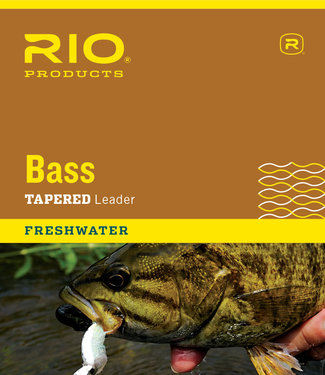 Rio Products Rio Bass Leaders, 9 12lb