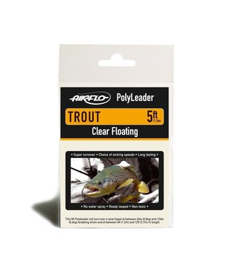 Rajeff Sports Airflo PolyLeader, Trout,