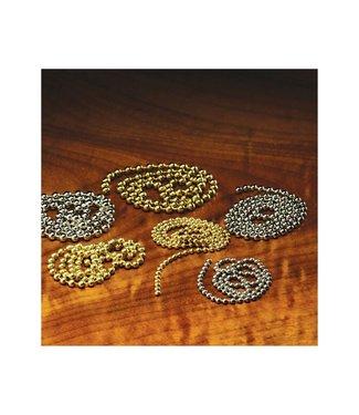 Hareline Dubbin Bead Chain Eyes,