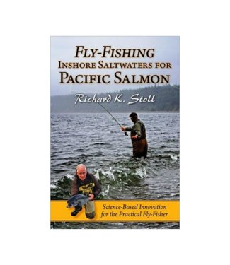 Anglers Book Supply Book, Fly Fishing Inshore Saltwaters for Pacific Salmon