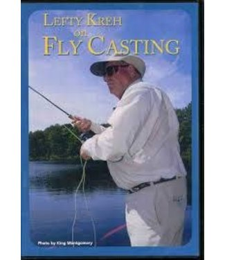 Anglers Book Supply DVD, Lefty Kreh on Fly Casting
