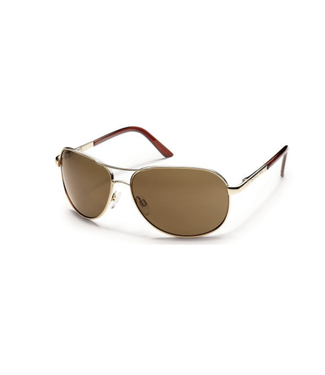 Suncloud Suncloud Aviator Gold/ Polar Brown