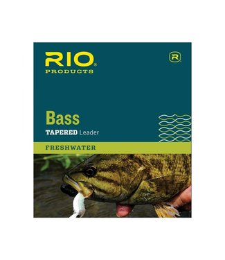 Rio Products Rio Bass Leaders, 9 12lb 3 Pack