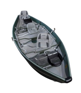 NRS NRS Clearwater Drifter Boat Green/Gray Demo
