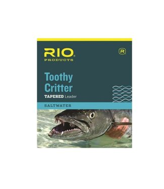 Rio Products Rio Toothy Critter Leader, 7.5' 30lb