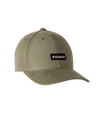 Sage Sage 6-Panel Logo Hat Olive One Size