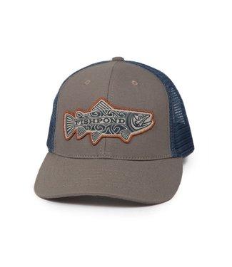 Fishpond Fishpond Maori Trout Hat - Sandstone/Slate