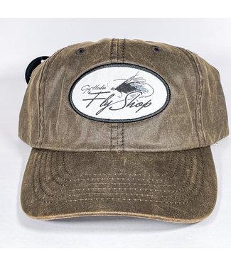 Gig Harbor Fly Shop GHFS Logo Oil Cloth Hat,