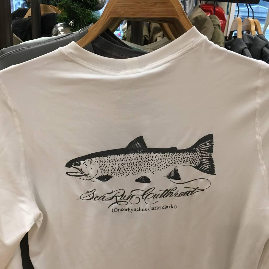 Patagonia Patagonia M's L/S Cap Daily T-Shirt - Sea Run Cutthroat,