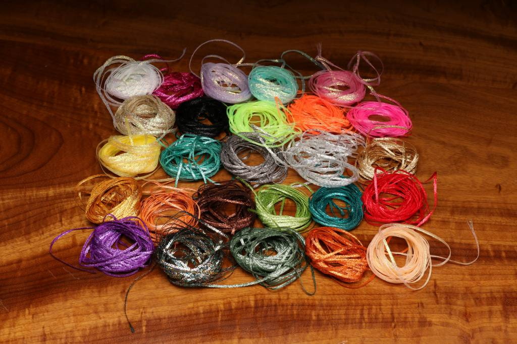 Hareline Dubbin Mini Flat Fly Braid,