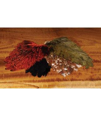 Hareline Dubbin Indian Hen Back,