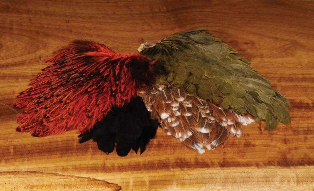 Hareline Dubbin Indian Hen Back,