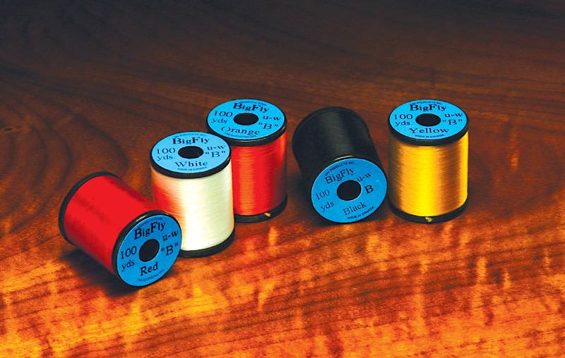 Hareline Dubbin Uni Big Fly Thread,