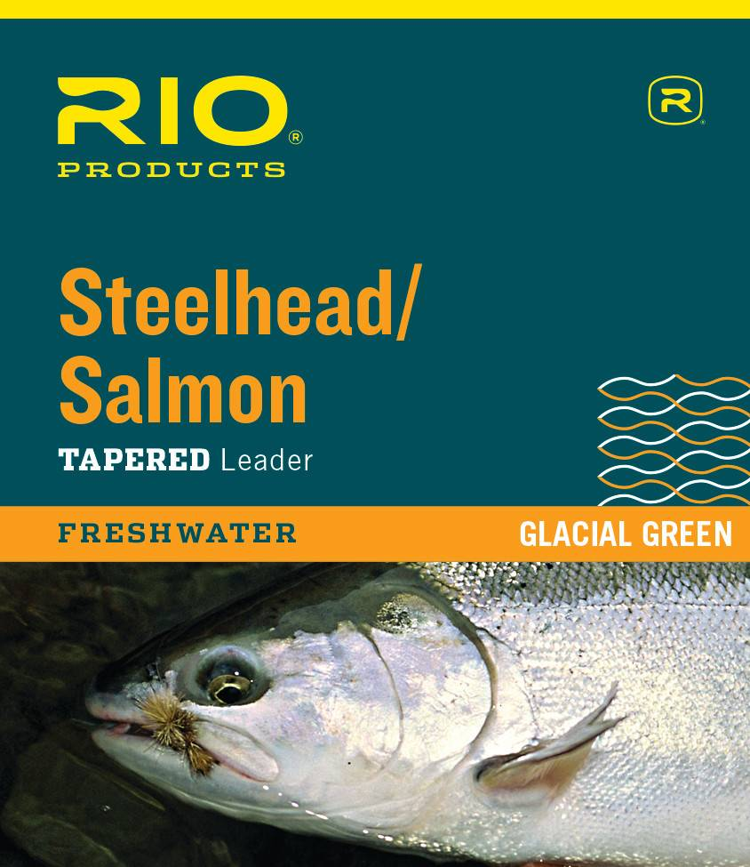 Rio Products Rio Salmon/Steelhead Glacial Green Leader,