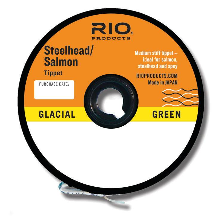 Rio Products Rio Salmon/Steelhead Glacial Green Tippet,