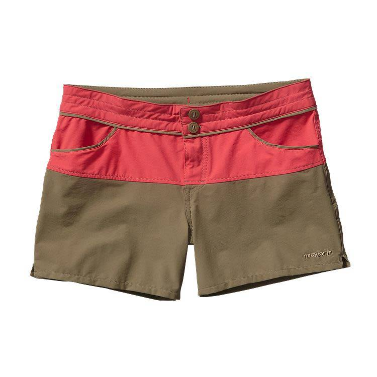 Patagonia Patagonia Women's Colorblock Stretch Wavefarer Shorts,