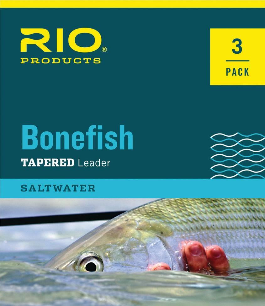 Rio Products Rio Bonefish Leader 3 pack,