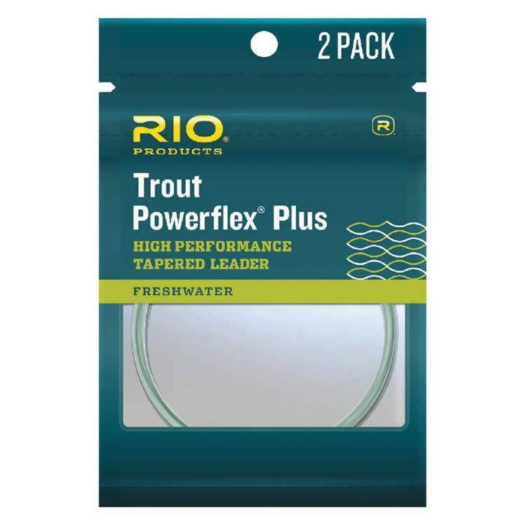 Rio Products Rio Powerflex Plus Leader 2 pack,