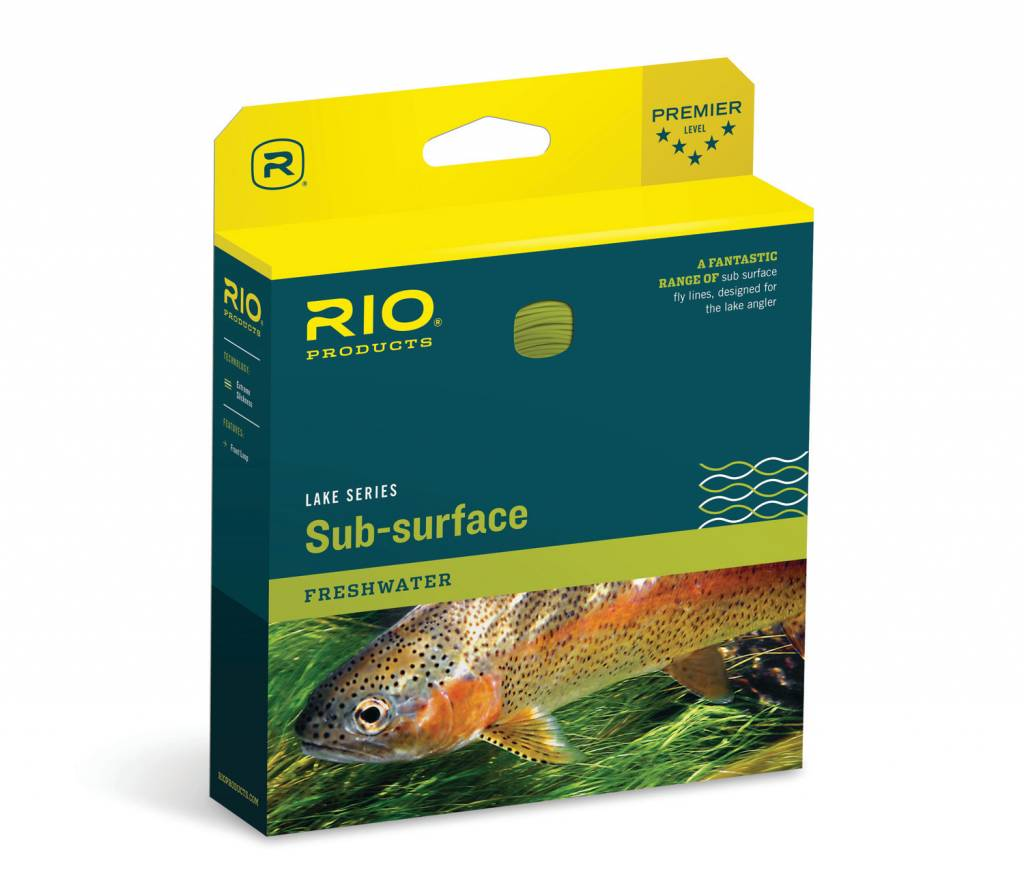 Rio Products Rio Lake AquaLux Fly Line,