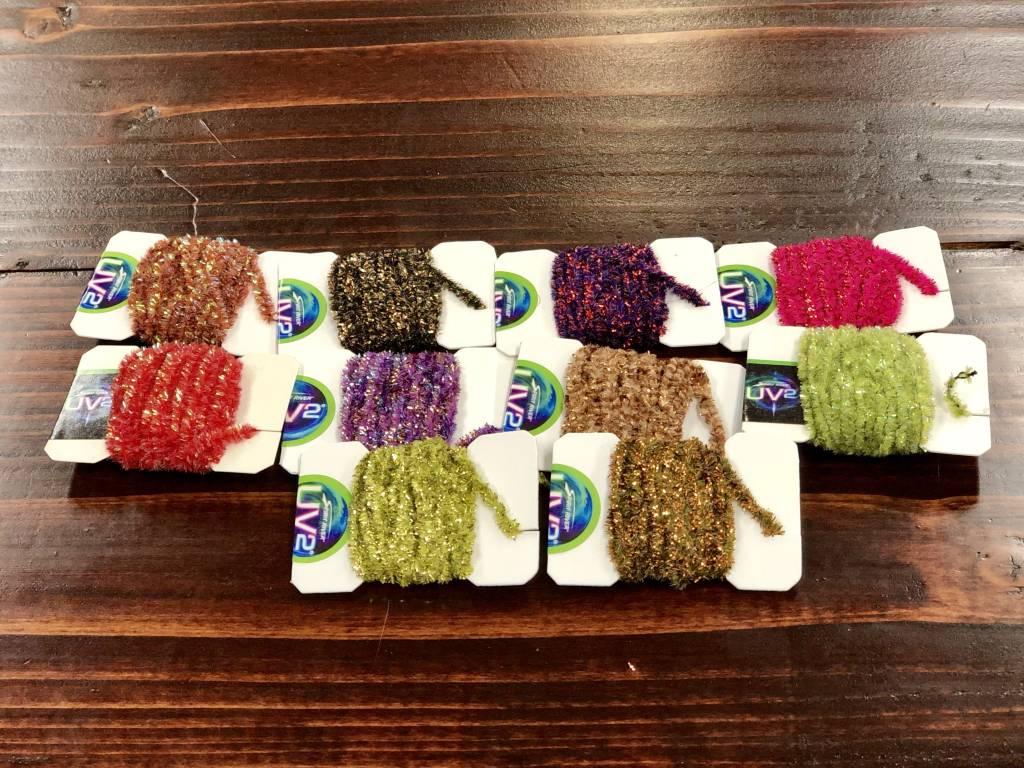Spirit River Spirit River UV2 Speckled Chenille Assortment Pack - 8 packs, 6 colors!