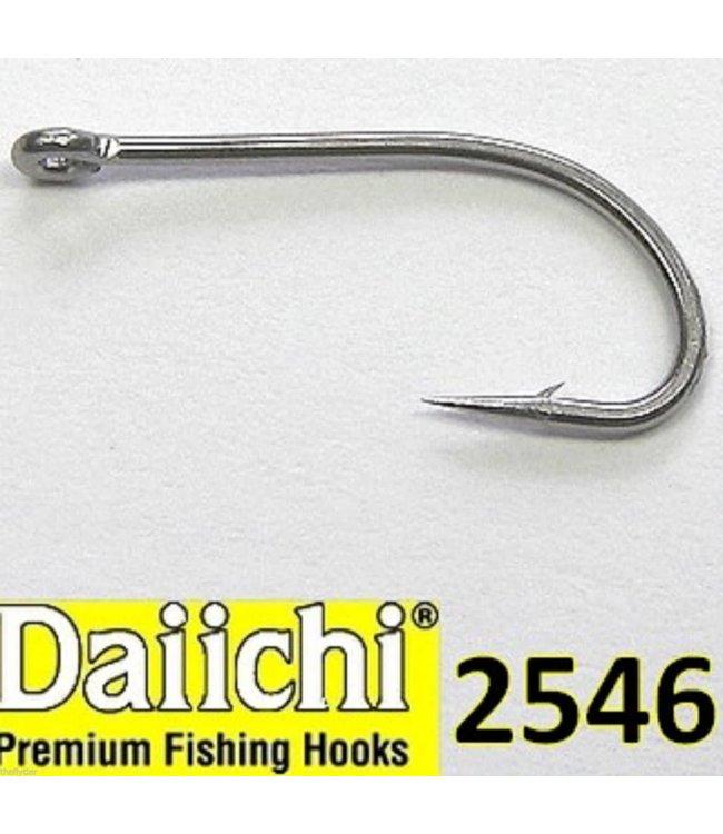 Hareline Dubbin Daiichi 2546 Saltwater Stainless Steel Fly Tying Hooks