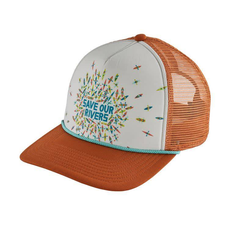Patagonia Patagonia Save Our Rivers Interstate Hat Copper Ore ALL