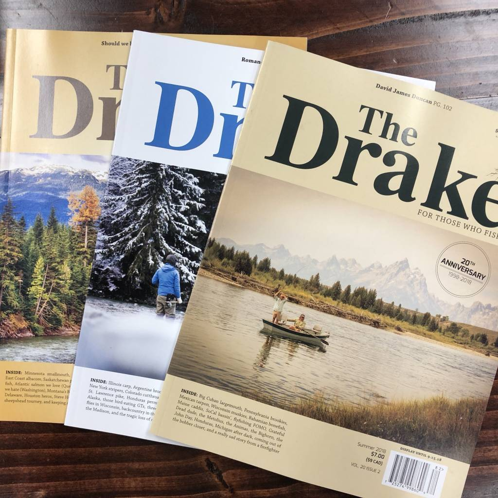 Fly Fish Journal The Drake Magazine - 3 Pack