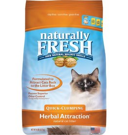 Eco Shell Naturally Fresh Walnut Litter Herbal Attract 14 lbs