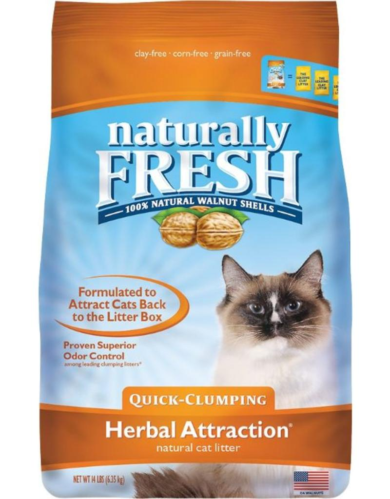 Eco Shell Naturally Fresh Walnut Herbal Attract Quick-Clumping Litter 14 lb (* Litter 12 lbs or More for Local Delivery or In-Store Pickup Only. *)