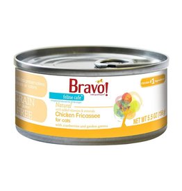 Bravo Bravo Canned Cat Chicken Fricassee 5.5 oz single