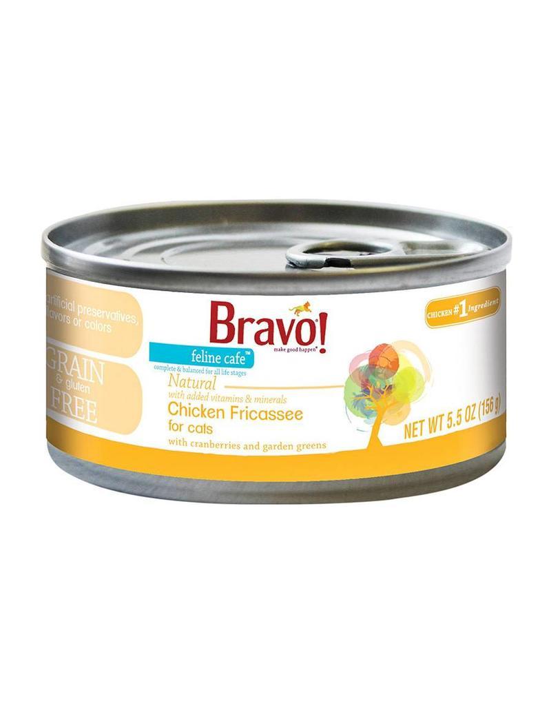 Bravo Bravo Canned Cat Chicken Fricassee 5.5 oz single