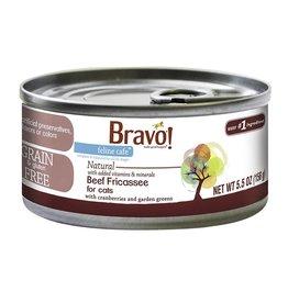 Bravo Bravo Canned Cat Beef Fricassee 5.5 oz single