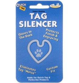TAG SILENCER Large Heart Tag