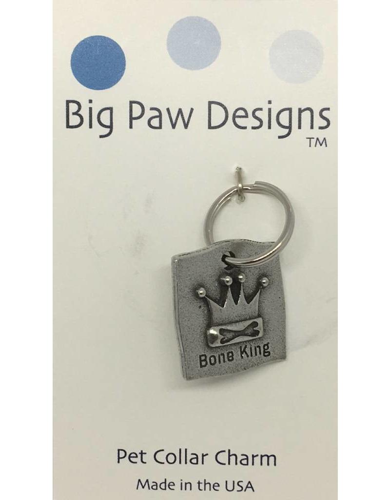 Big Paw Designs Dog Tags  Bone King