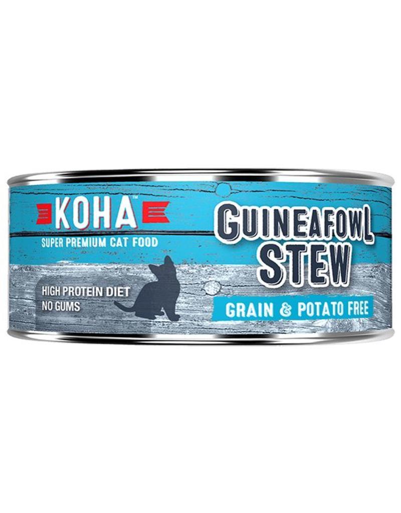 Koha Koha Canned Cat Food Guineafowl Stew 5.5 oz single
