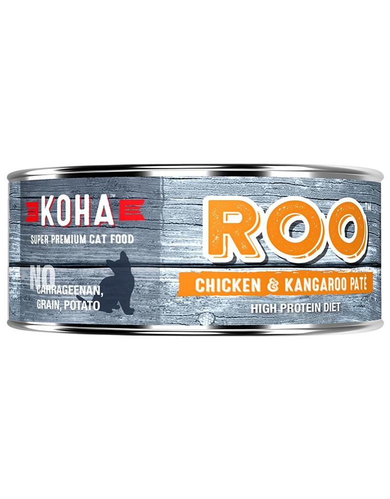 Koha Koha Canned Cat Food Kangaroo & Chicken Pate 5.5 oz single