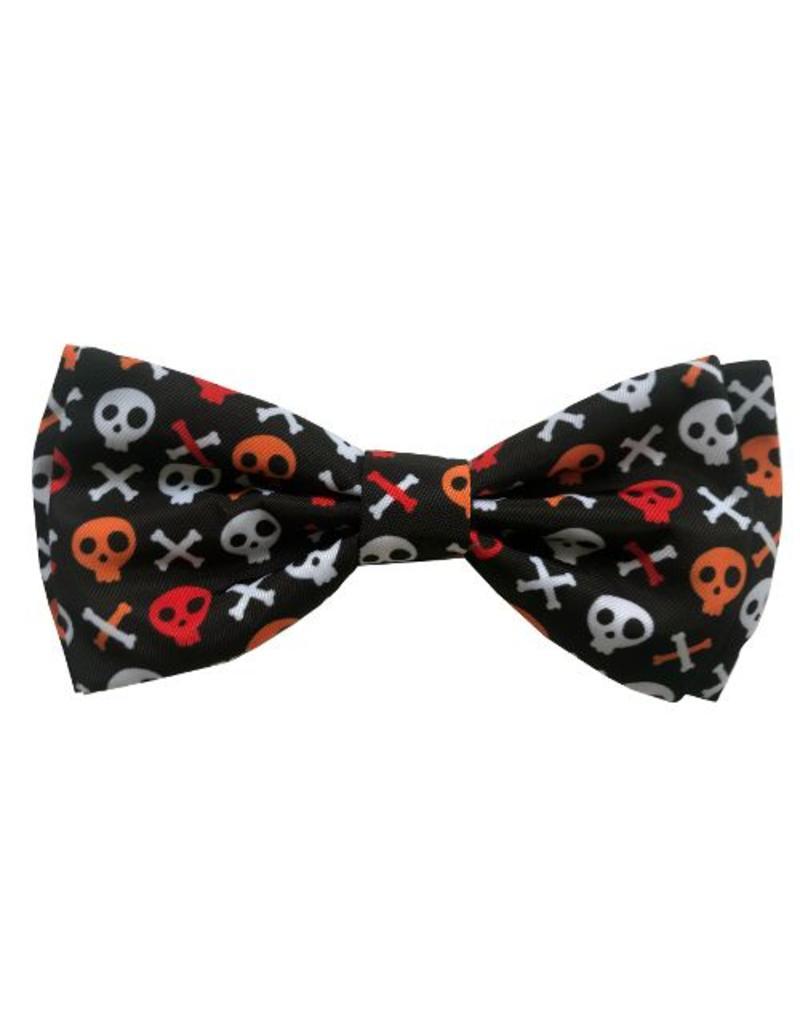 Huxley & Kent Huxley & Kent Bow Tie Skull and Bones XL