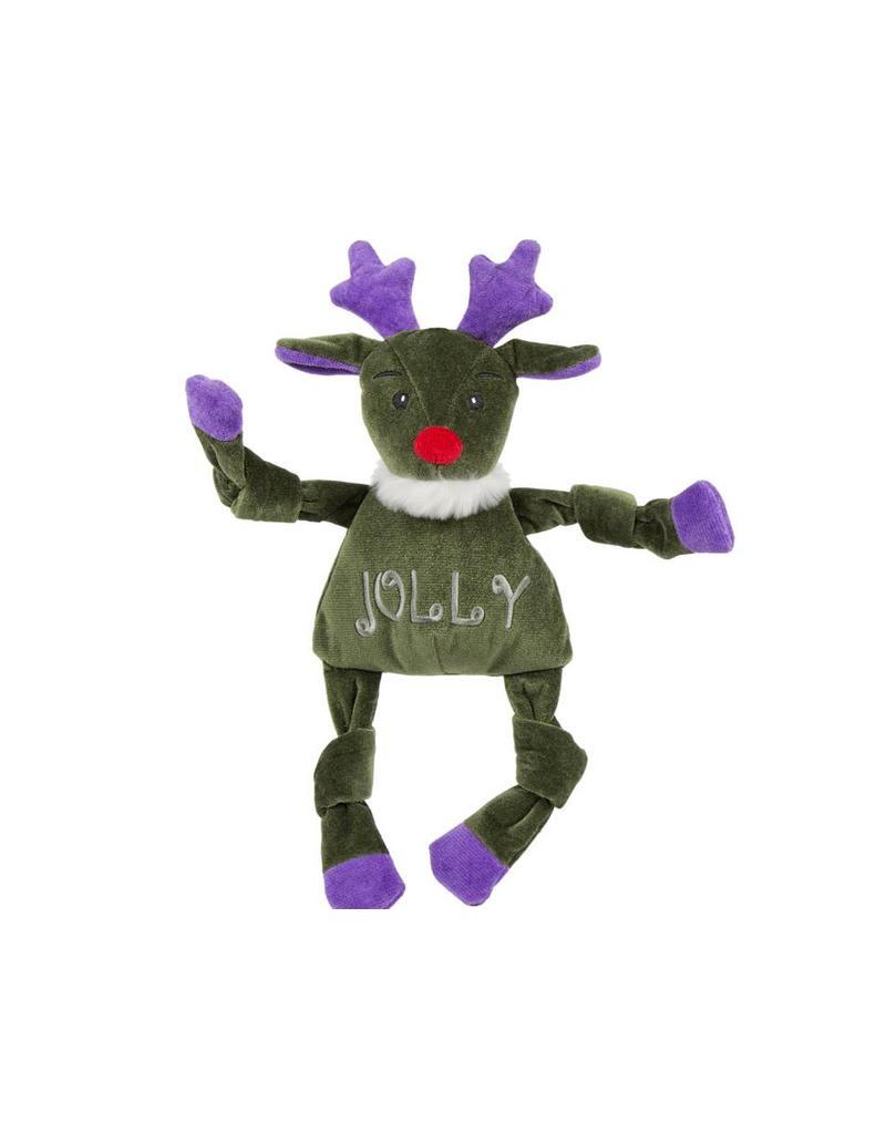 HuggleHounds Huggle Hounds Christmas 2018 Toys Jolly Reindeer Knottie Wee
