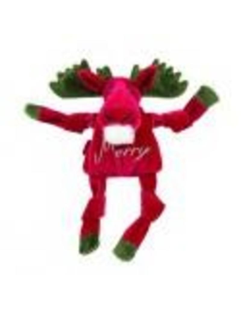 HuggleHounds Huggle Hounds Christmas 2018 Toys Merry Moose Knottie Small