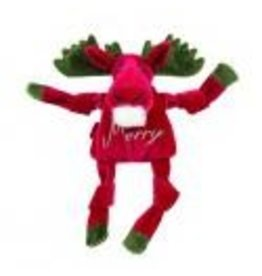 HuggleHounds Huggle Hounds Christmas 2018 Toys Merry Moose Knottie Large