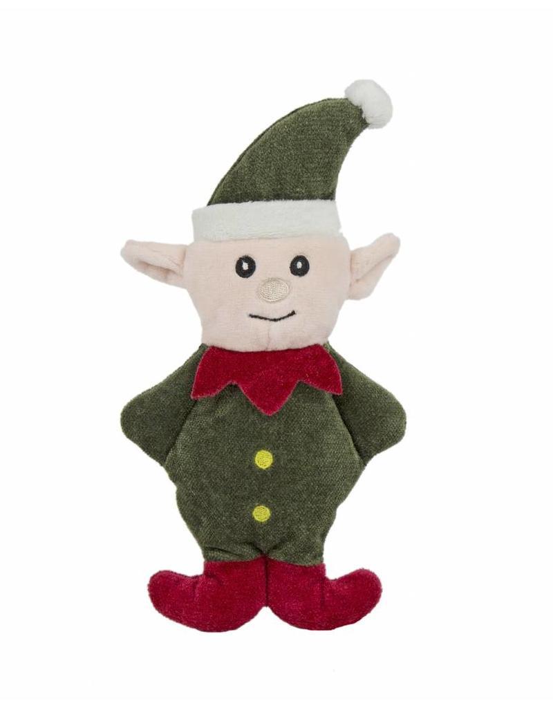 HuggleHounds Huggle Hounds Christmas Plush Corduroy Durable Cookie 2018 Elf
