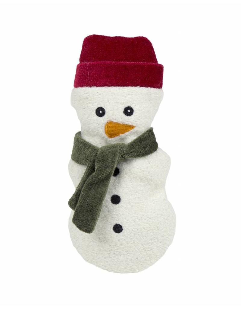 HuggleHounds Huggle Hounds Christmas Plush Corduroy Durable Cookie 2018 Snowman