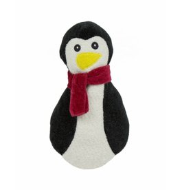 HuggleHounds Huggle Hounds Christmas Plush Corduroy Durable Cookie 2018 Penguin