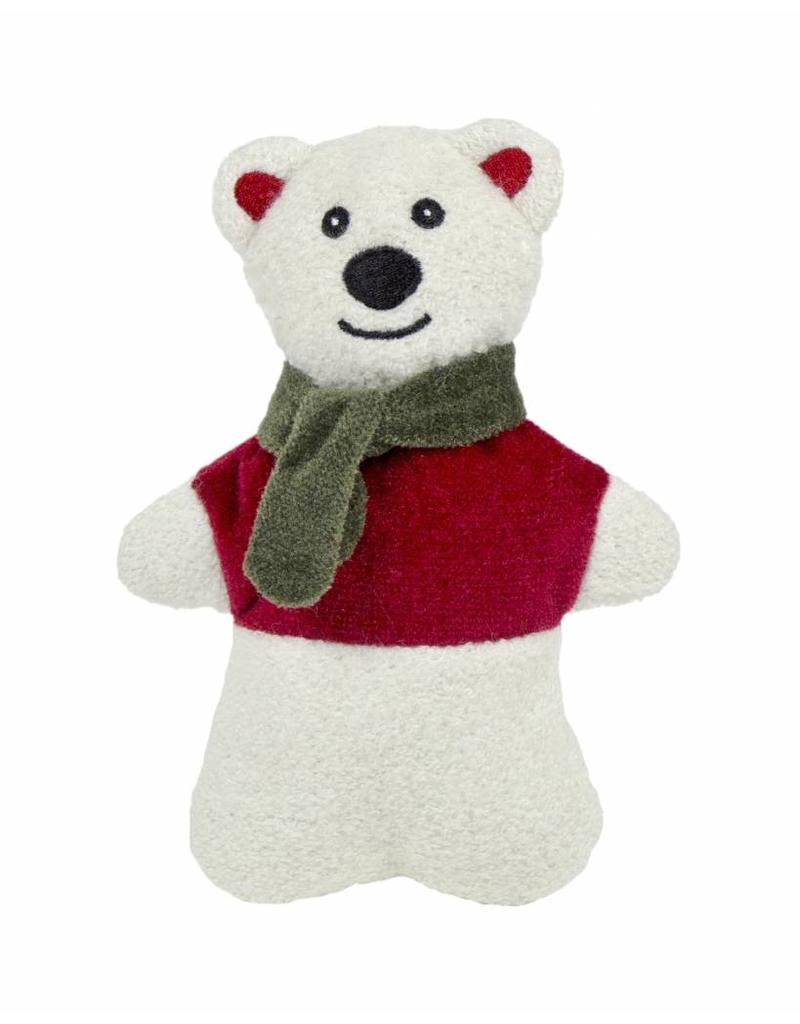 Huggle Hounds Christmas Plush Corduroy Durable Cookie 2018 Polar Bear