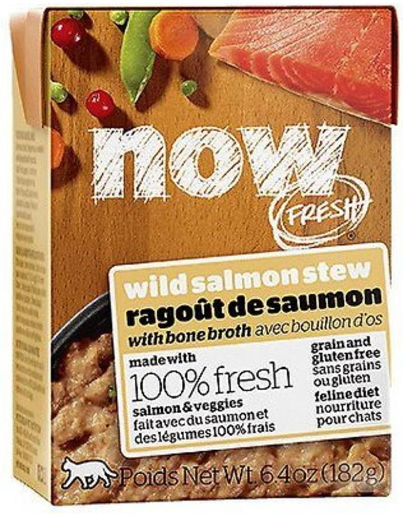 Petcurean NOW Cat Grain-Free Stew Salmon 6.4 oz single